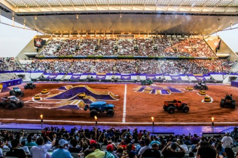 Monster Jam na Arena Corinthians