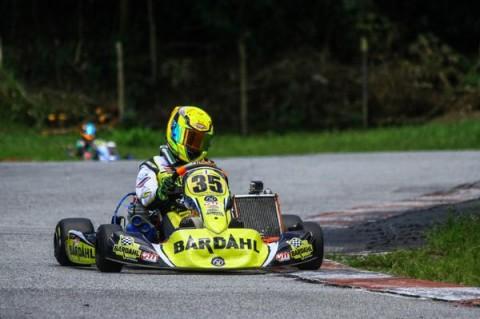 Pedro Aizza volta a acelerar na Copa São Paulo Light de Kart após título na etapa anterior