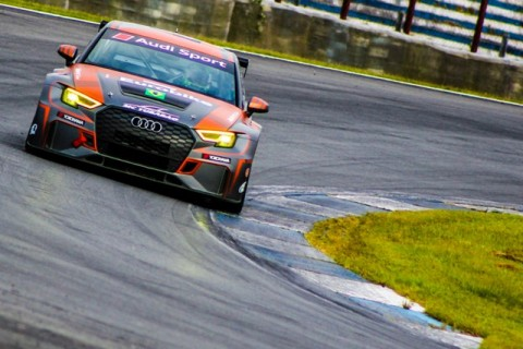 Audi RS3 da Eurobike termina em terceiro na abertura do Endurance Brasil