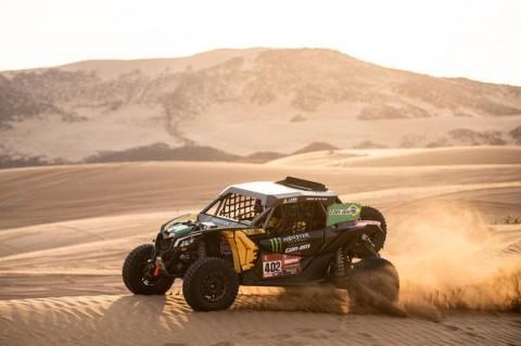 Dakar: em dia dramático, brasileiros fazem metade da prova sem volante