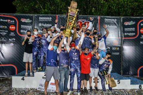 Americanet Car Racing KTF conquista tricampeonato das 500 Milhas de Kart com trinca no pódio