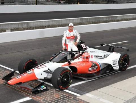 Pietro Fittipaldi fatura prêmio de Estreante Mais Rápido do Ano em classificatório da Indy-500