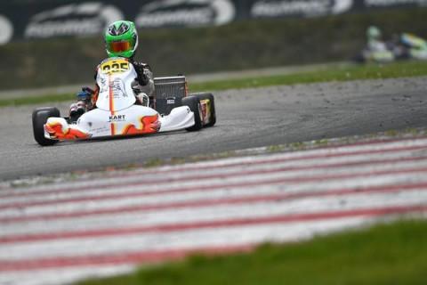 Matheus Ferreira disputa segunda etapa do Europeu de Kart na OK Junior