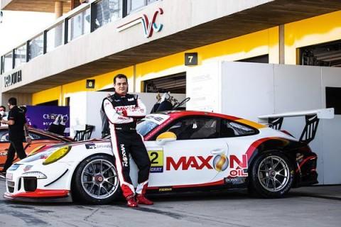 Edson Reis estreia pela Porsche Cup no fim de semana com as cores da Maxon Oil