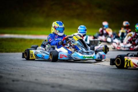 Pedro Clerot corre no Paulista Light de Kart após recorde nos monopostos