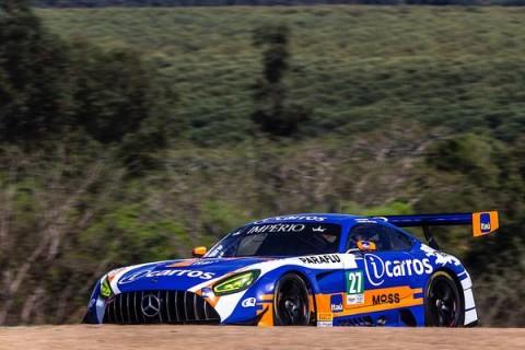 Cacá Bueno e Ricardo Baptista vencem no Endurance Brasil na classe GT3